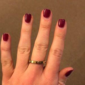 Michael kors simple gold ring